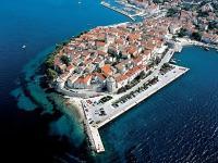 Korčula - Pohled na staré město