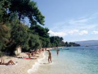 Pláž v obci Mala Luka