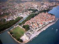 Pohled na město Trogir