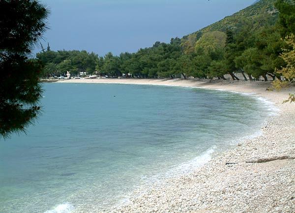 Zaostrog - moře